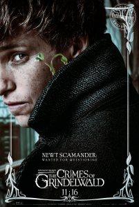 """""""Procurado para questionamento"""" No fim do primeiro filme, Newt ajudou a capturar o infame mago das trevas Gellert Grindelwald e agora publicou seu famoso livro sobre os animais. Então qual será o problema que o magizoologista está dessa vez?"""