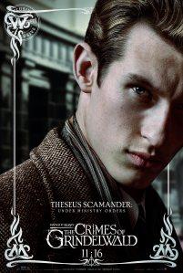 """""""Sob ordens do Ministério"""" Thesus é o irmão de Newt e noivo de Leta Lestrange"""