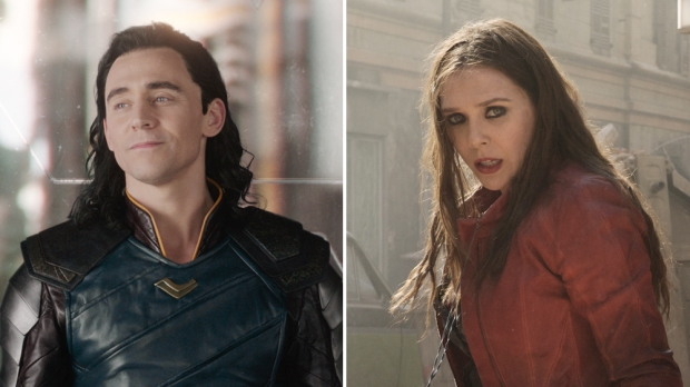 marvel-universe-loki-tom-hiddleston-scarlett-witch-elizabeth-olsen